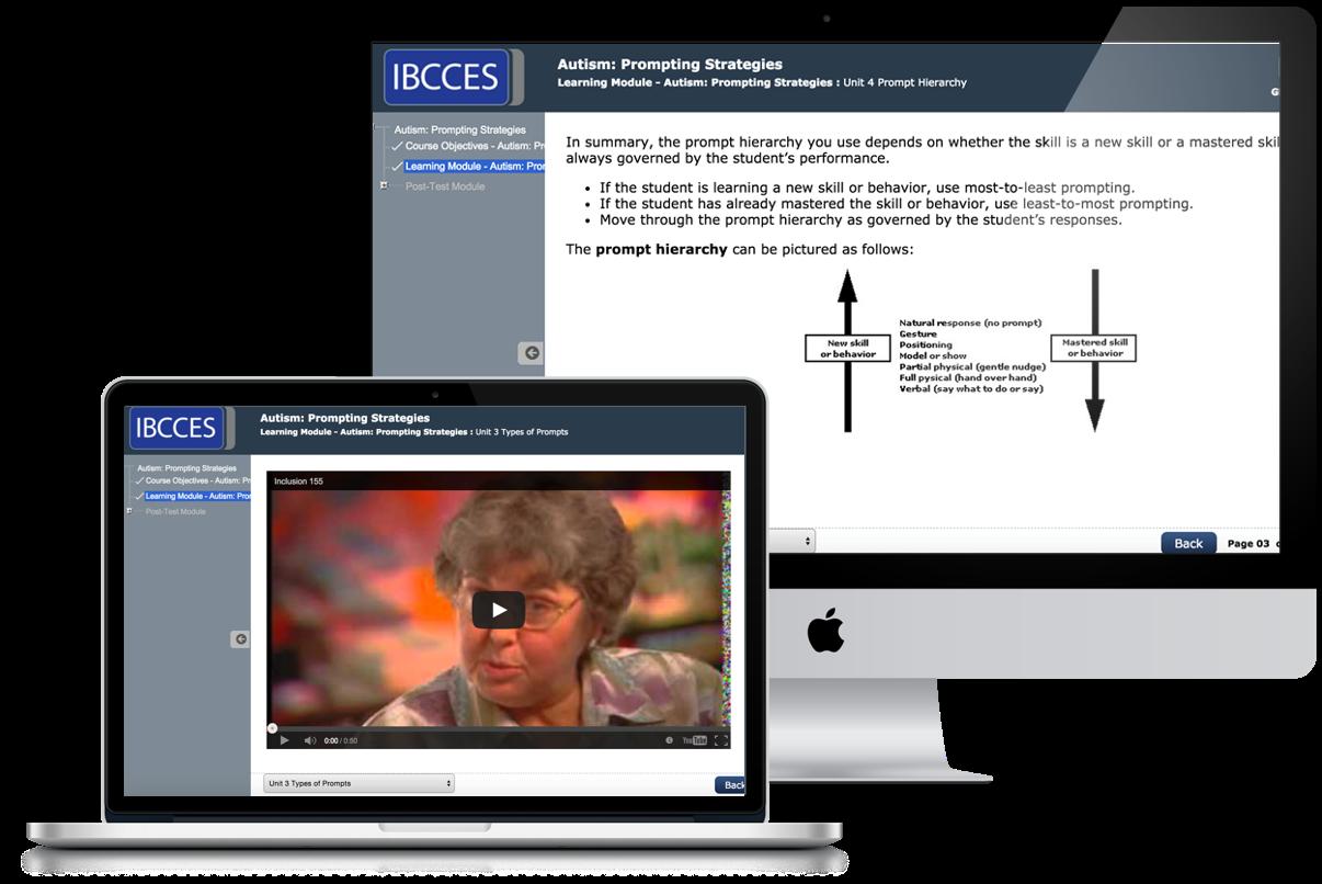 IBCCES University - Advanced ABA Training for Autism